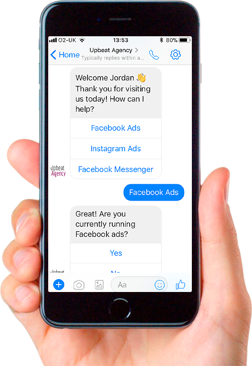 Upbeat Agency: A Facebook Messenger Marketing & Chatbot Agency