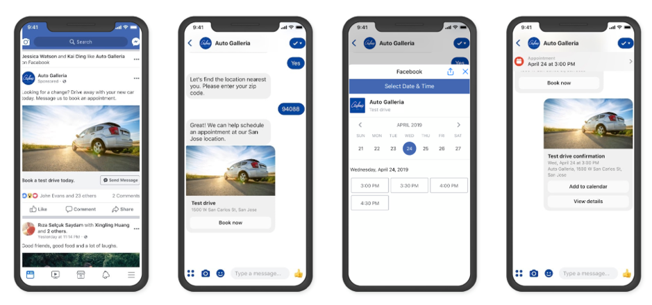 Messenger Examples