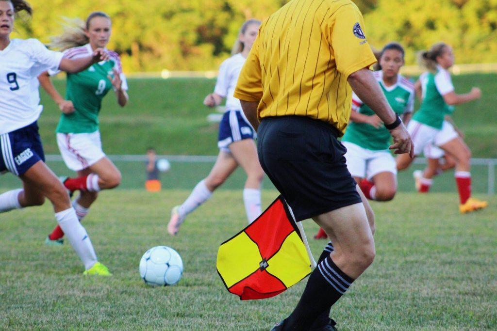Women's Football Linesman