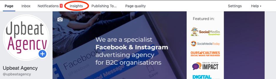 Facebook Insights Tab
