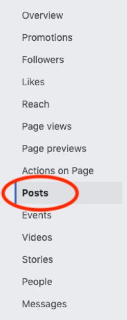 Facebook Posts Tab