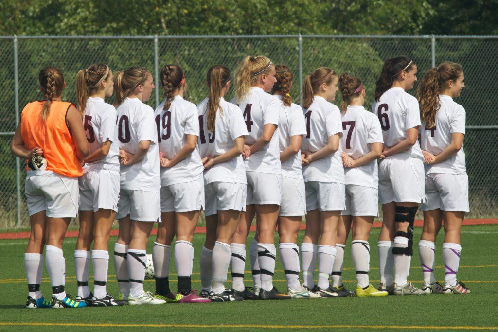 Women's Football Line Up